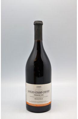 Tollot Beaut Savigny les Beaune 1er cru Champ Chevrey 2005