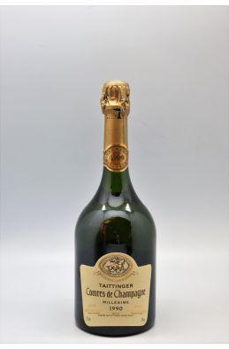 Taittinger Comtes de Champagne 1990