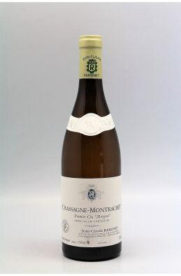 Ramonet Chassagne Montrachet 1er cru Morgeot 2018 blanc