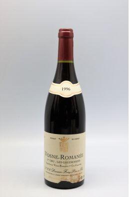 Forey Vosne Romanée 1er cru les Gaudichots 1996 -5% DISCOUNT !
