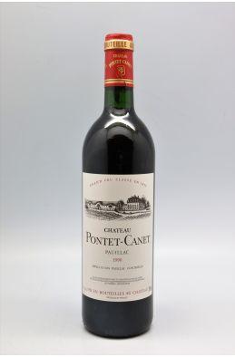 Pontet Canet 1990