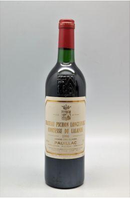 Pichon Longueville Comtesse de Lalande 1990