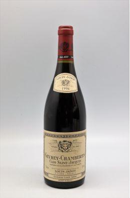 Louis Jadot Gevrey Chambertin 1er cru Clos Saint Jacques 1996
