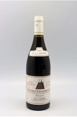 Pierre André Gevrey Chambertin Champlain 2002