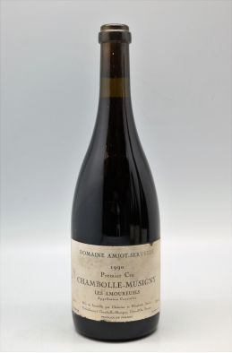 Amiot Servelle Chambolle Musigny 1er cru Les Amoureuses 1990