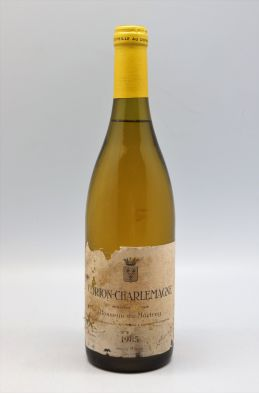 Bonneau Du Martray Corton Charlemagne 1985 -10% DISCOUNT !