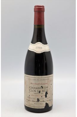 Bruno Clair Chambertin Clos de Bèze 1988 -10% DISCOUNT !