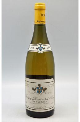 Domaine Leflaive Puligny Montrachet 1er cru Les Pucelles 1996