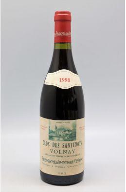 Jacques Prieur Volnay 1er cru Clos des Santenots 1990