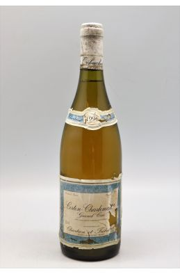 Jean Chartron Corton Charlemagne 1996 -10% DISCOUNT !