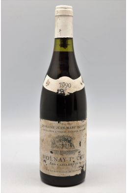 Jean Marc Bouley Volnay 1er cru Les Caillerets 1990 -10% DISCOUNT !