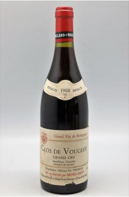 Thomas Moillard Clos Vougeot 1988