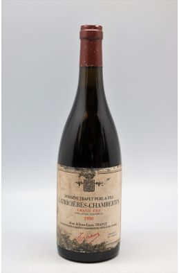 Trapet Latricières Chambertin 1990 -10% DISCOUNT !