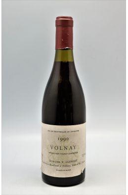 Yvon Clerget Volnay 1990