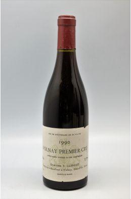 Yvon Clerget Volnay 1er cru 1990
