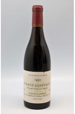 Yvon Clerget Volnay 1er cru Les Santenots 1990