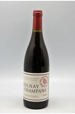 Marquis d'Angerville Volnay 1er cru Champans 2009