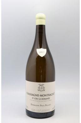 Paul Pillot Chassagne Montrachet 1er cru La Romanée 2017 Magnum
