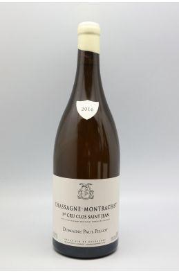 Paul Pillot Chassagne Montrachet 1er cru Clos Saint Jean 2016 Magnum