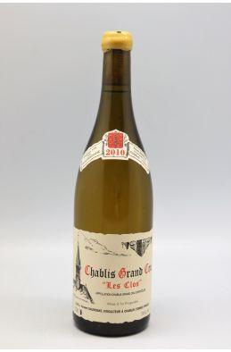 Vincent Dauvissat Chablis Grand cru Les Clos 2010