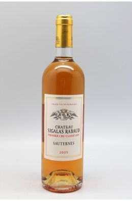 Sigalas Rabaud 2005