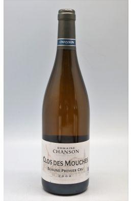 Chanson Beaune 1er cru Clos des Mouches 2009 blanc