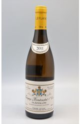 Domaine Leflaive Puligny Montrachet 1er cru Clavoillons 2011