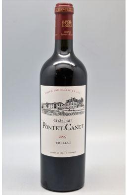 Pontet Canet 2007