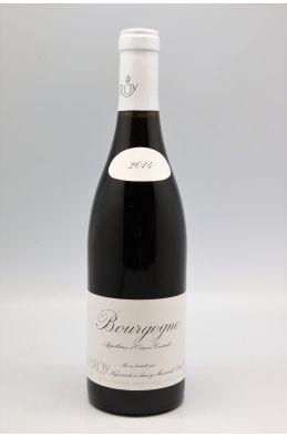 Domaine Leroy Bourgogne 2014 rouge