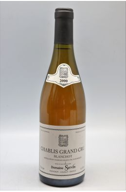 Servin Chablis Grand cru Blanchot 2000 - PROMO -10% !