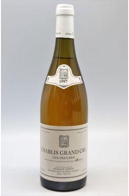 Servin Chablis Grand cru Les Preuses 1997 -10% DISCOUNT !