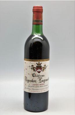 Peyredon Lagravette 1982 -10% DISCOUNT !