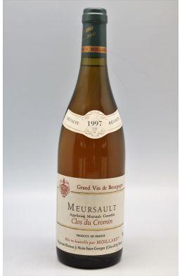 Moillard Meursault Clos du Cromin 1997