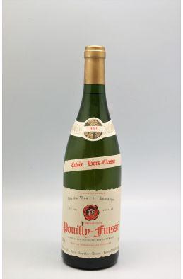 Ferret Pouilly Fuissé Cuvée Hors Classe 1999