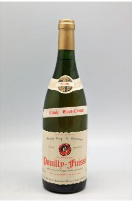 Ferret Pouilly Fuissé Cuvée Hors Classe 2000