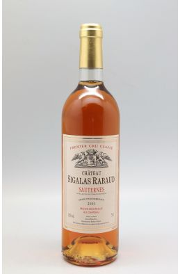 Sigalas Rabaud 2001