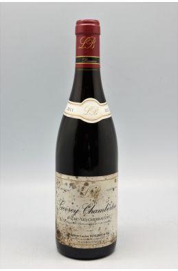 Lucien Boillot Gevrey Chambertin 1er cru Les Cherbaudes 2011 -10% DISCOUNT !