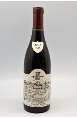 Claude Dugat Gevrey Chambertin 1er cru Lavaux St Jacques 2006