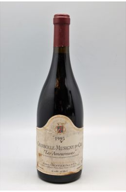 Groffier Chambolle Musigny 1er cru Les Amoureuses 1995 -5% DISCOUNT !