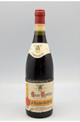Vidal Fleury Crozes Hermitage 1996 -5% DISCOUNT !