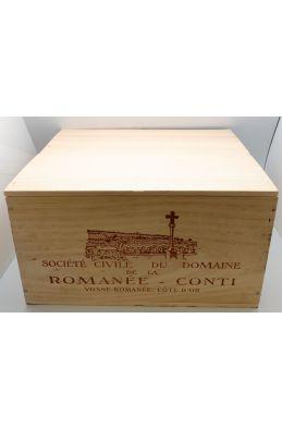 Romanée Conti 2017 Assortiment 6 bouteilles (1RC. 2T. 1R. 1RSV. 1CORTON)