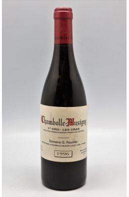 Georges Roumier Chambolle Musigny 1er cru Les Cras 1996