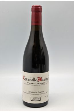 Georges Roumier Chambolle Musigny 1er cru Les Cras 2007
