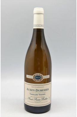 Pascal Prunier Bonheur Auxey Duresses Vieilles Vignes 2014 blanc