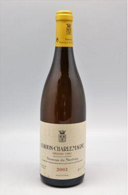 Bonneau Du Martray Corton Charlemagne 2003