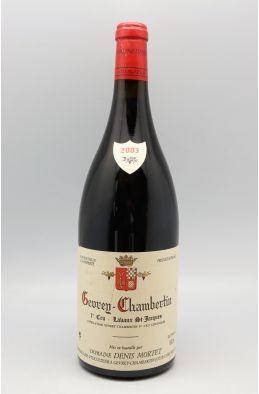 Denis Mortet Gevrey Chambertin 1er cru Lavaux Saint Jacques 2003 Magnum