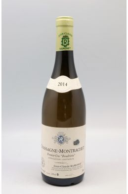 Ramonet Chassagne Montrachet 1er cru Boudriotte 2014 -5% DISCOUNT !