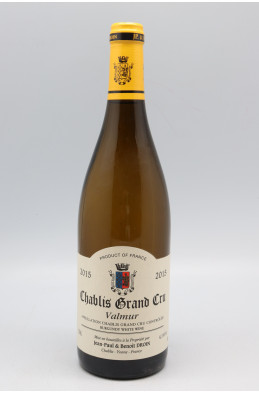 Jean Paul Droin Chablis Grand cru Valmur 2015