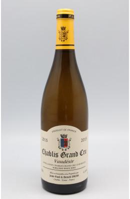 Jean Paul Droin Chablis Grand cru Vaudésir 2015