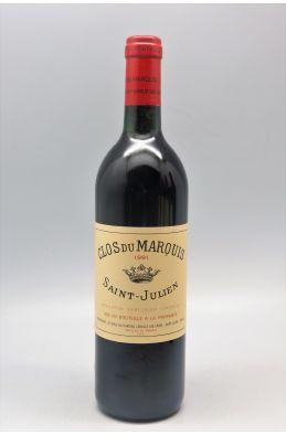 Clos du Marquis 1991